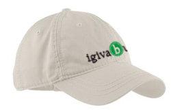 thick stitch baseball cap