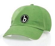 "'b"" thick stitch cap"