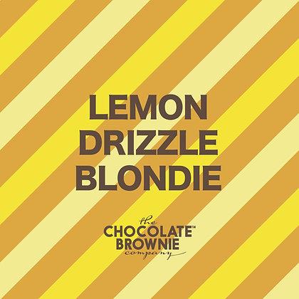 Lemon Drizzle Blondie