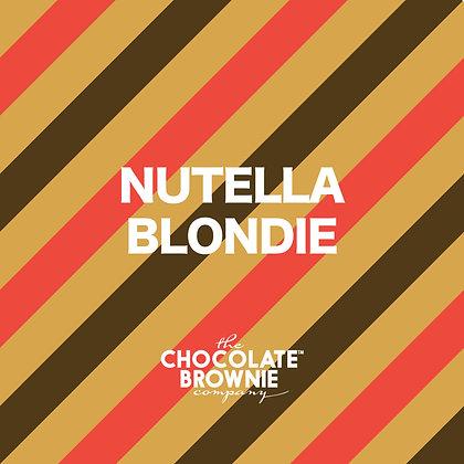Nutella Blondie