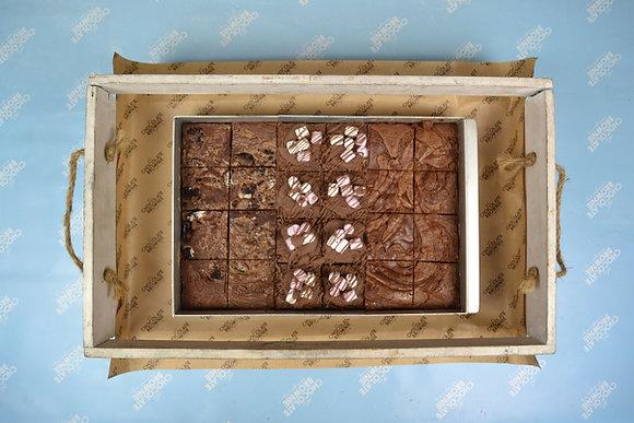 Triple Flavoured Brownie Trays