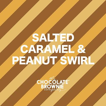 Salted Caramel & Peanut Swirl