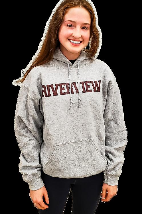 Grey Riverview Hoodie