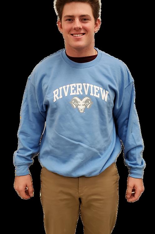Blue Riverview Crew Neck