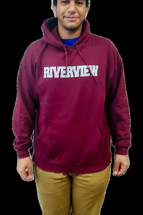 Maroon Riverview Hoodie