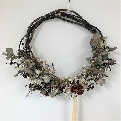 Mid Winter Christmas Wreath
