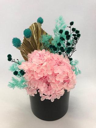 Medium Mint & Pink