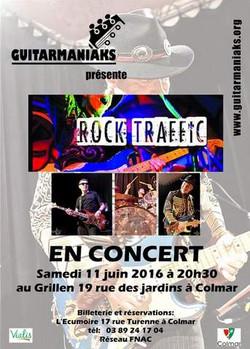 affiche Rock Traffic