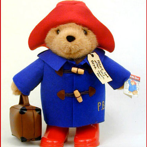 Paddington with Blue Coat From Rainbow Designs PA 1490