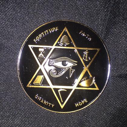 Masonic Challange Coin