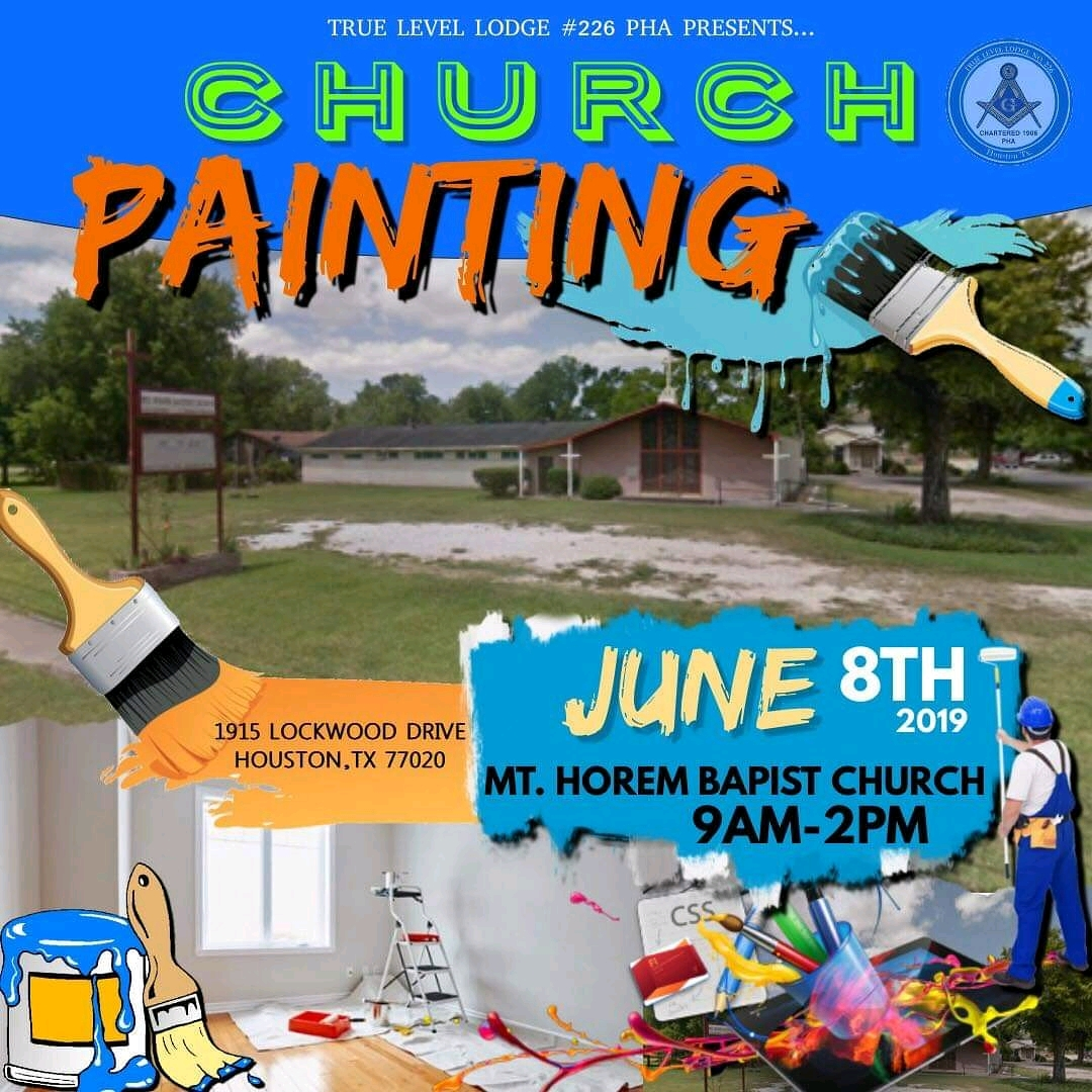 True Level Church Painting
