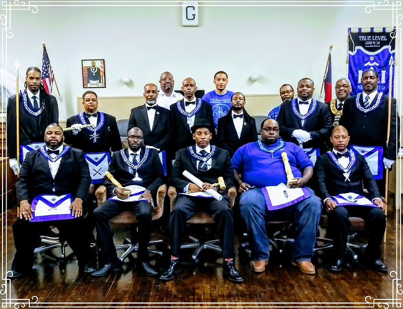 Officers, Masons, PHA, Prince Hall Masons