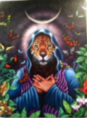 Tiger Moon - Radhika Hersey