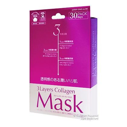 Japan Gals - 3 Layers Collagen Mask