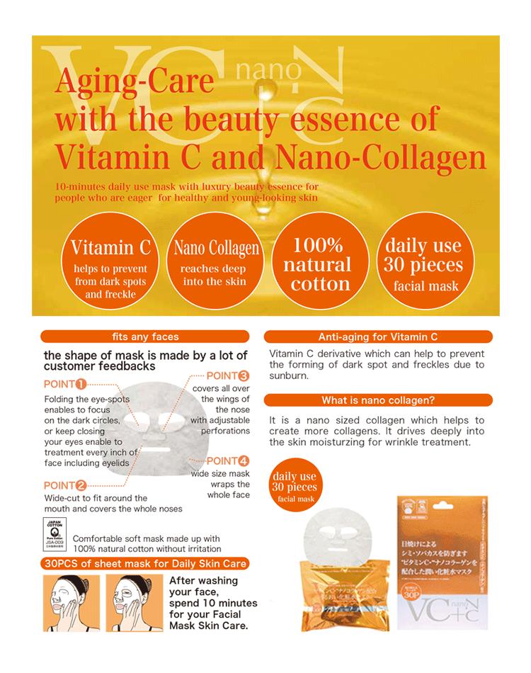 Japan Gals VC + Nano-C Mask