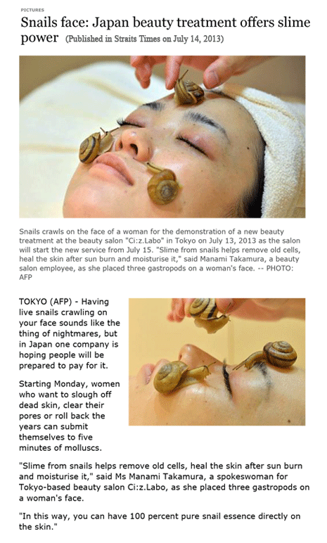 Snail: New Skincare Technology
