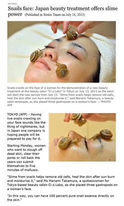Snail: New Skincare Technology
