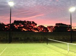 Sunset at Gannons.JPG