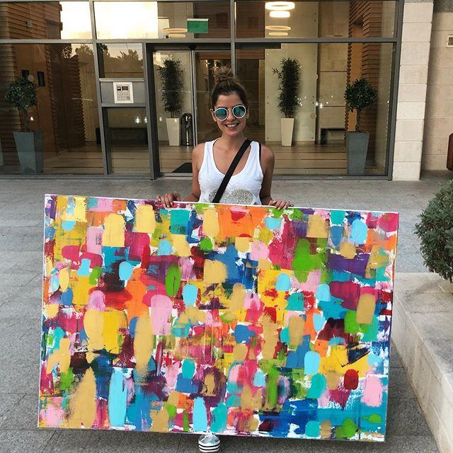 Abigail _100X150 CM_Acrylic on canvas_👏