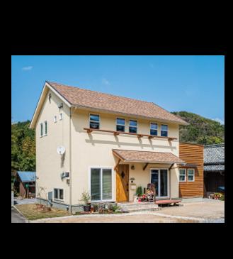 リベラアーキテクチャ おしゃれで可愛いい二世帯住宅