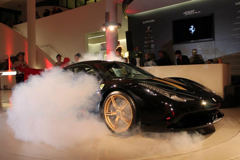 Ferrari Presentation - Hannover