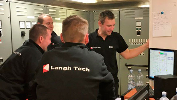 Langh Tech water treatment to be used  in EGR systems