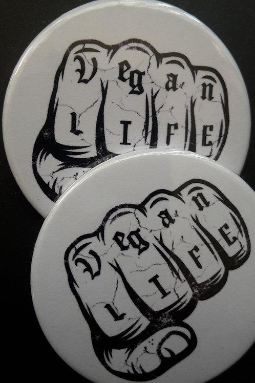 Vegan life badge