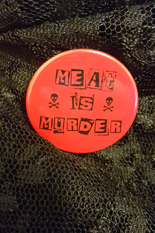 Meat is Murder badge