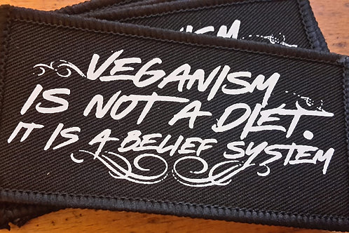 Veganism is not a diet Patch
