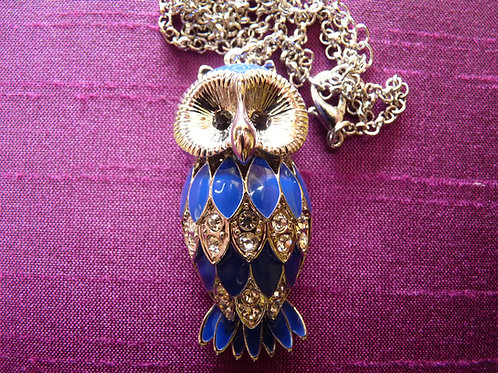 Blue Small Owl