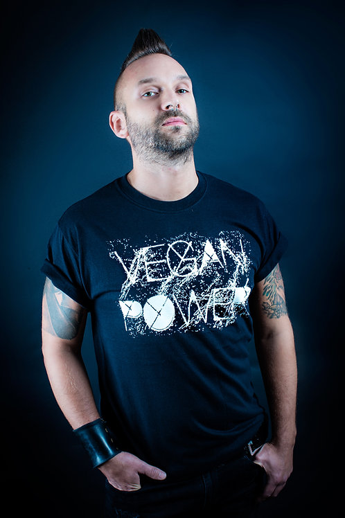 Vegan power men's tee
