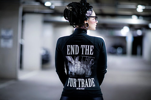 END THE FUR TRADE TRACK TOP
