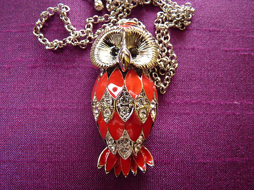 Red Small Owl