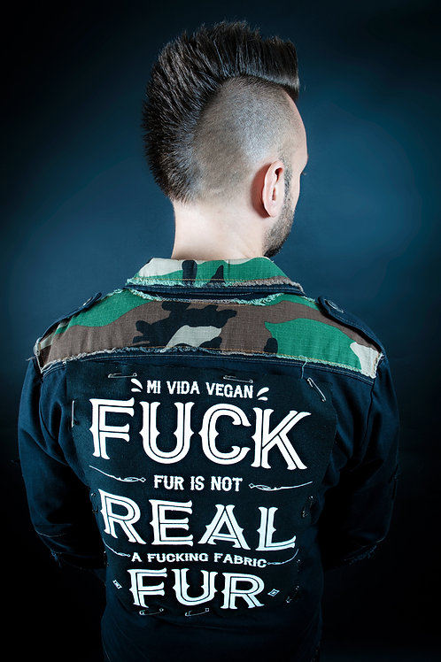 Fuck Real Fur Backpatch