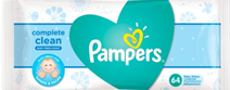Pampers Complete Natural Clean Baby Fresh