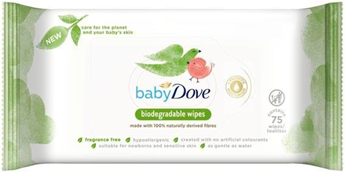 Baby Dove Biodegradable