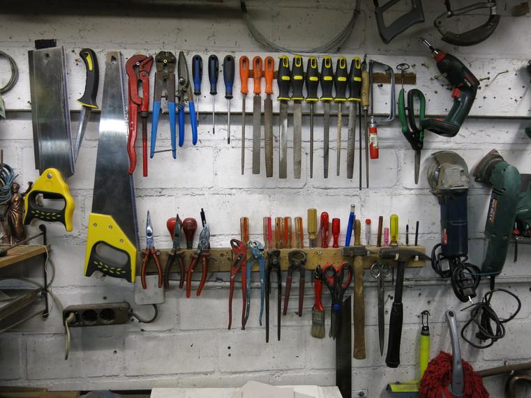 His Garage Tool Organizer