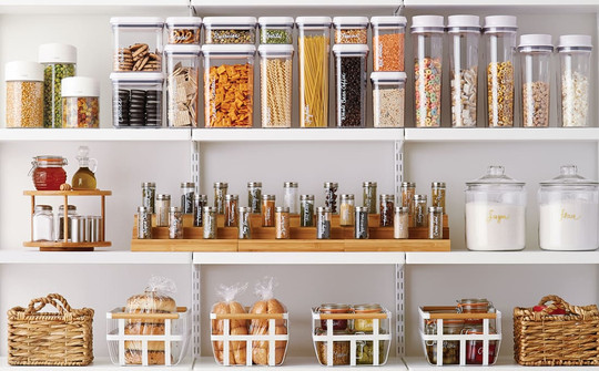 Pantry Container Organization