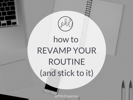 REVAMP YOUR ROUTINE