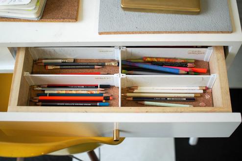 Art Supply Drawer