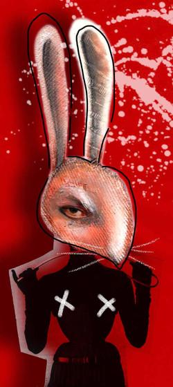 coniglio rosso