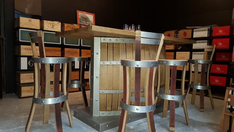 Chaise Cuisine Chaise Bar Tabouret Bar Barrique Tonneau Fut
