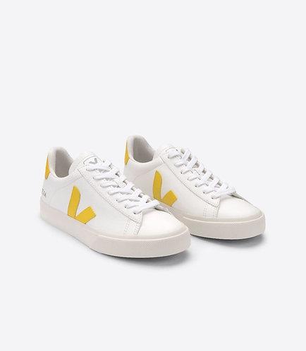 Sneakers – Veja – Lacets Blanc et jaune