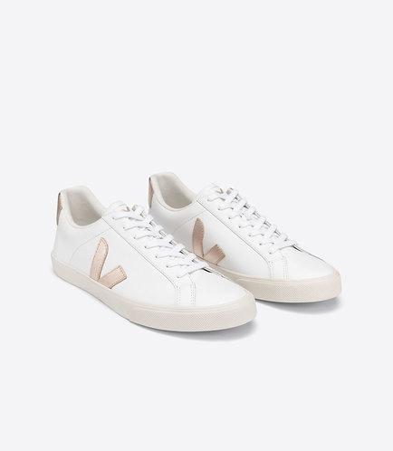 Sneakers – Veja – Lacets Blanc et doré