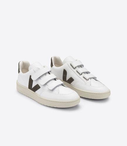 Sneakers – Veja – Scratch Blanc et kaki