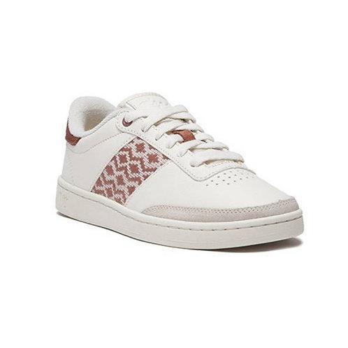 Sneakers – N'Go – Ben Thanh, Blanc et terracotta