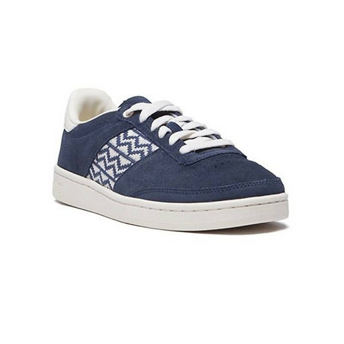 Sneakers Daim – N'Go – Ha Long, Bleu et blanc