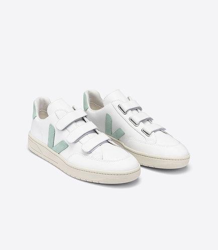 Sneakers – Veja – Scratch Blanc et menthe