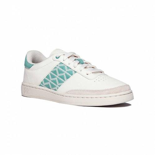 Sneakers – N'Go – Mui Dien, blanc et menthe