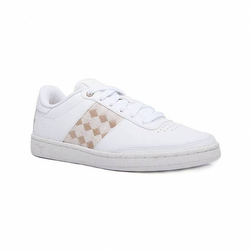 Sneakers cuir recyclées – N'Go – Quang Ba, Blanc